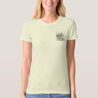 Bear Cubs Running from Swarm of Bees T-Shirt