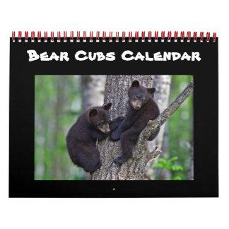 Bear Cute Cubs Baby Cub Home Destiny Destiny'S Calendar