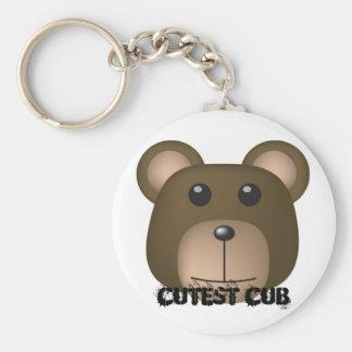 Bear, Cutest Cub Keychain