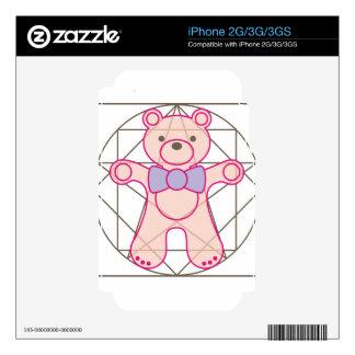 bear_da_vinci iPhone 3GS skin
