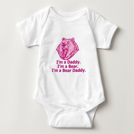 Bear Daddy Baby Bodysuit