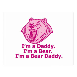 Bear Daddy Postcard