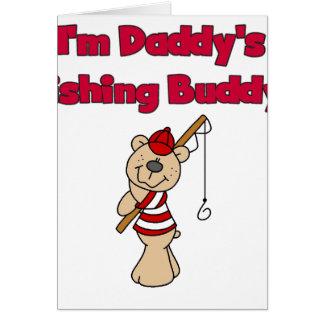 Bear Daddy's Fishing Buddy Greeting Cards