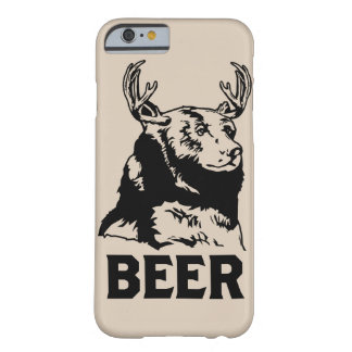 Bear + Deer = Beer Barely There iPhone 6 Case