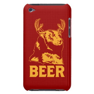 Bear + Deer = Beer Barely There iPod Cover