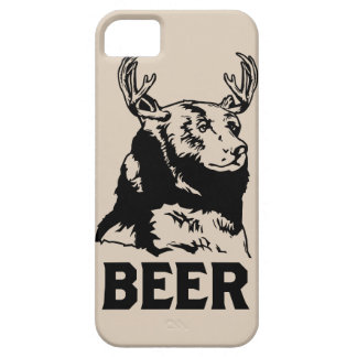 Bear + Deer = Beer iPhone 5 Cases