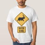 Bear Deer Beer Crossing T-Shirt