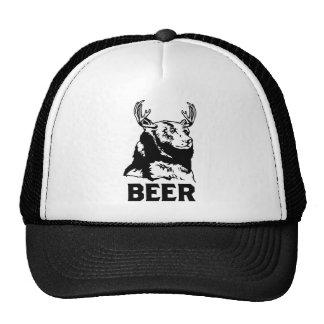 Bear + Deer = Beer Mesh Hat