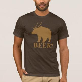 Bear + Deer = Beer?  shirt