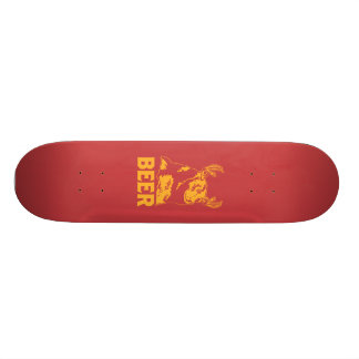 Bear + Deer = Beer Skateboard Deck