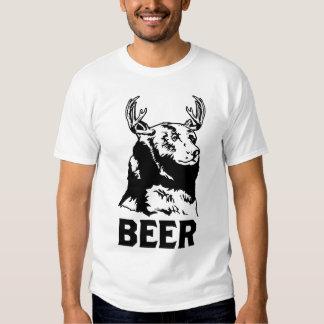 Bear + Deer = Beer T Shirt