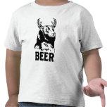 Bear + Deer = Beer Tee Shirts