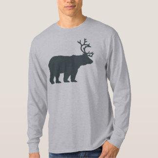 Bear Deer or Beer Silhouette T-Shirt
