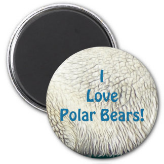 Bear Design for Animal and Wildlife-Supporters 2 Inch Round Magnet