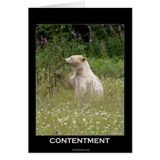 Bear Design for Animal and Wildlife-Supporters Card