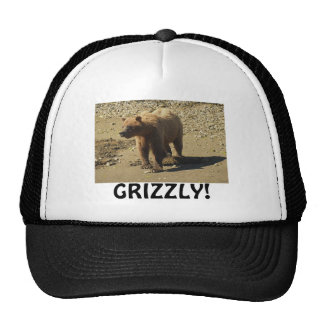 Bear Design for Animal and Wildlife-Supporters Trucker Hat