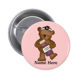Bear Doctor Button