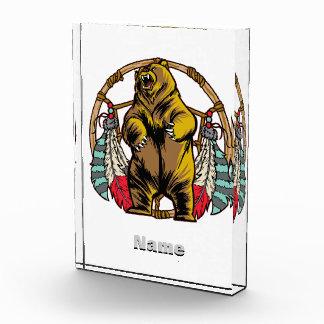Bear Dream Catcher Acrylic Award