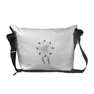Bear Dream Catcher Courier Bag