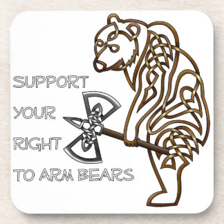 Bear Drink Coaster