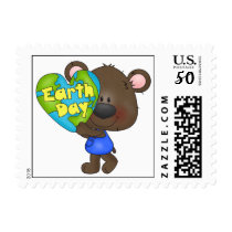 Bear Earth Day Postage