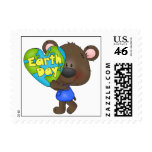 Bear Earth Day Stamps