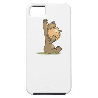 Bear Eating Pumpkin iPhone 5 Cover