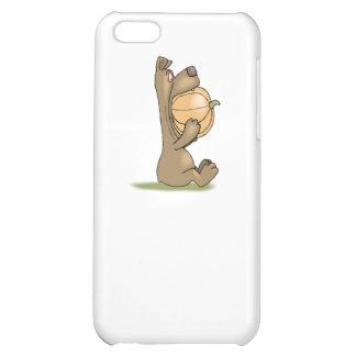 Bear Eating Pumpkin iPhone 5C Covers