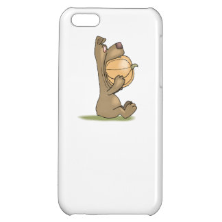 Bear Eating Pumpkin Cover For iPhone 5C