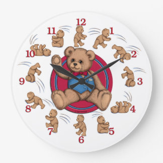 Bear Essentials Clock