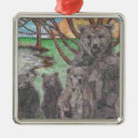 BEAR FAMILY COL DRAWING.PNG CHRISTMAS TREE ORNAMENTS