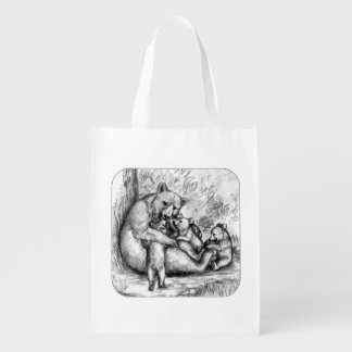 Bear Family Grocery Bags