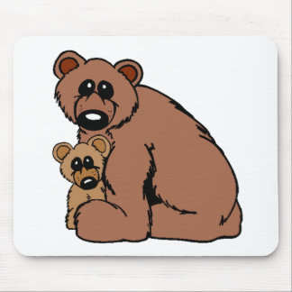 Bear Family Mouse Pad