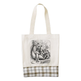 Bear Family Zazzle HEART Tote Bag