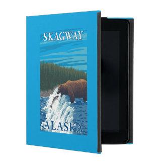 Bear Fishing in River - Skagway, Alaska iPad Folio Case