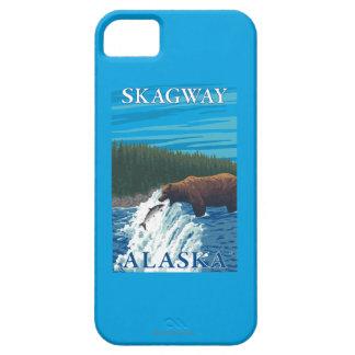Bear Fishing in River - Skagway, Alaska iPhone SE/5/5s Case