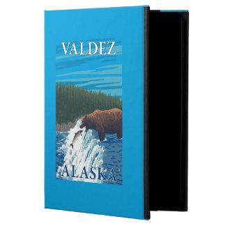 Bear Fishing in River - Valdez, Alaska iPad Air Covers