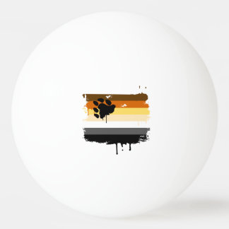 BEAR FLAG DRIPPING -.png Ping Pong Ball