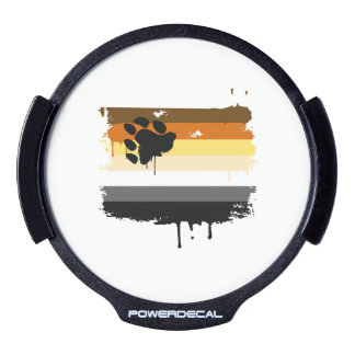 BEAR FLAG DRIPPING -.png LED Car Decal