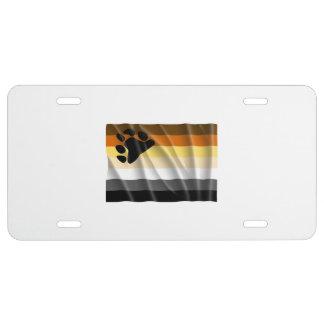 BEAR FLAG FLYING -.png License Plate