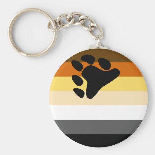 Bear Flag Keychain