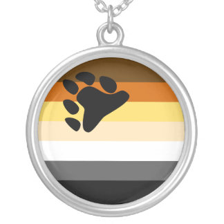 Bear Flag Necklace