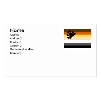 BEAR FLAG ORIGINAL -.png Double-Sided Standard Business Cards (Pack Of 100)