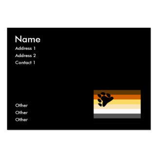 BEAR FLAG ORIGINAL -.png Large Business Cards (Pack Of 100)