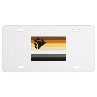 BEAR FLAG ORIGINAL -.png License Plate