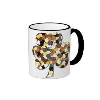 Bear Flag Shamrock Field Mug