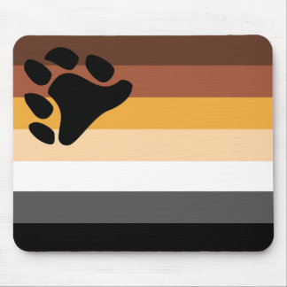 Bear Flag (traditional) Mouse Pad