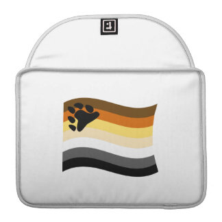 BEAR FLAG WAVING MacBook PRO SLEEVES