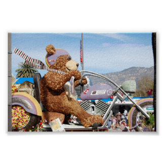 Bear Float Rose Parade Pasadena, Dominant Images Poster