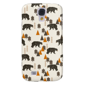 Bear / Forest Woodland Camping / Andrea Lauren Samsung S4 Case